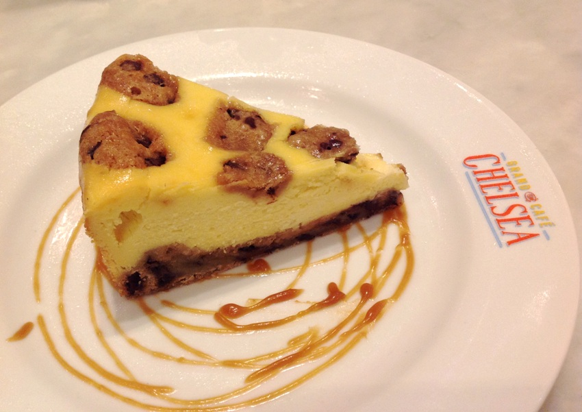 PHOTO 8 NY Style Chocolate Chip Cookie Dough Cheesecake (P 310)