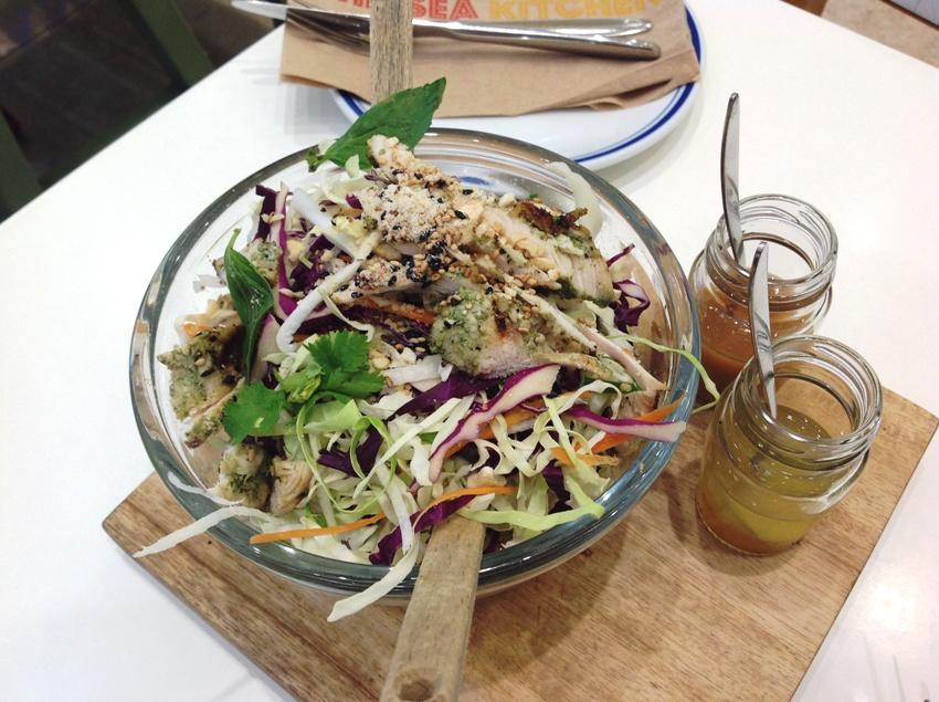 The CK Chicken Salad (P 250) PHOTO 2