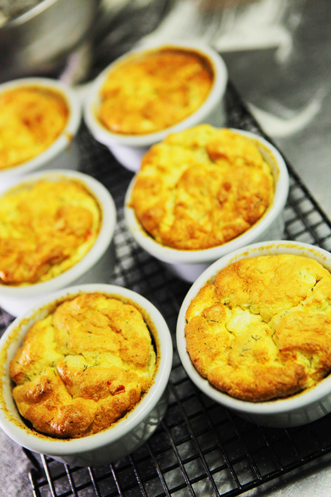 Twice baked prawn and dill souffle_web