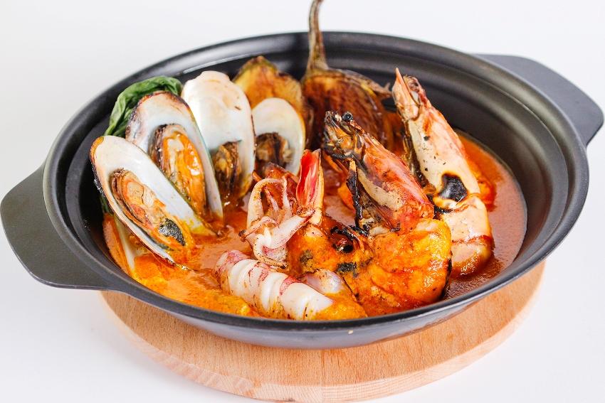 seafood kare