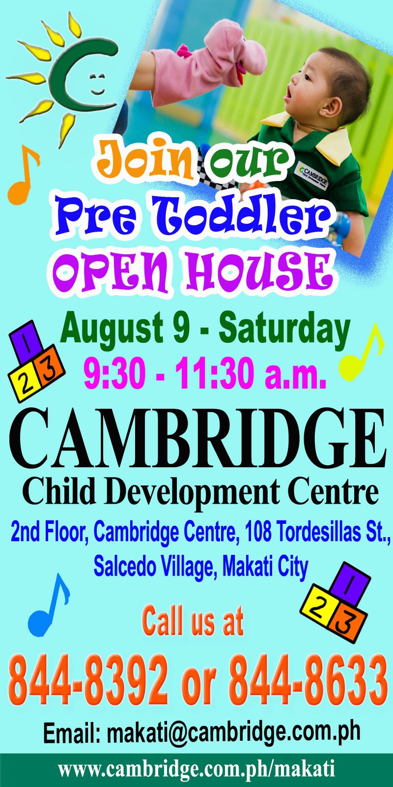 Pre Toddler Open House 2014 copy