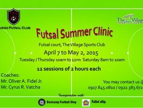 Fuego Futsal Summer Clinic