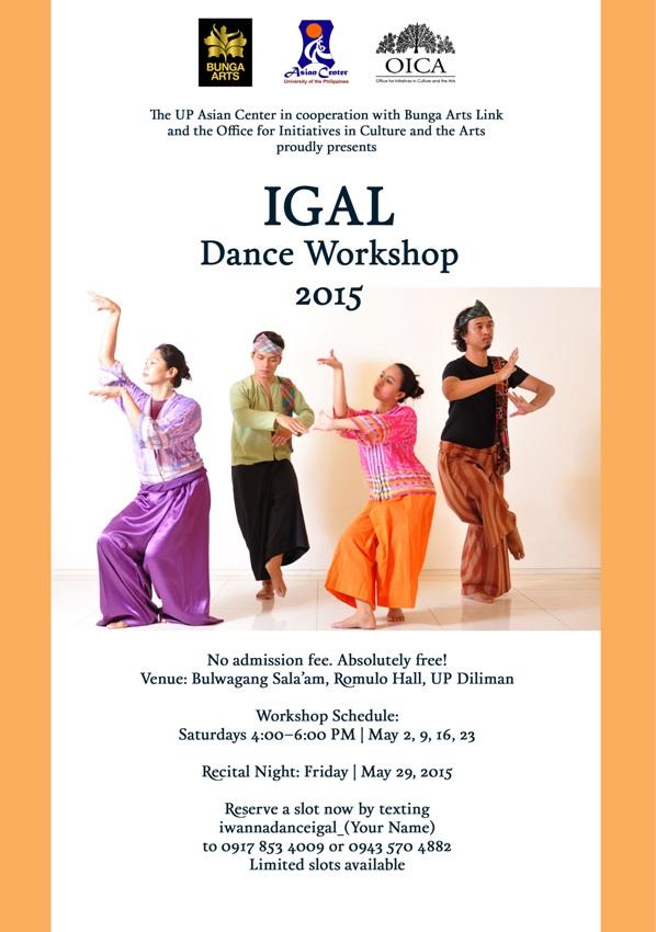 Igal workshop 2015 poster A3