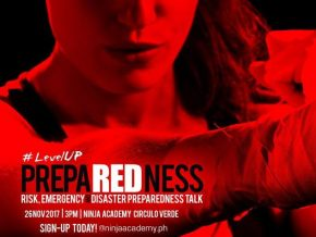 Ninja Academy PH's Risk, Emergency, & Disaster (RED) Preparedness Workshop