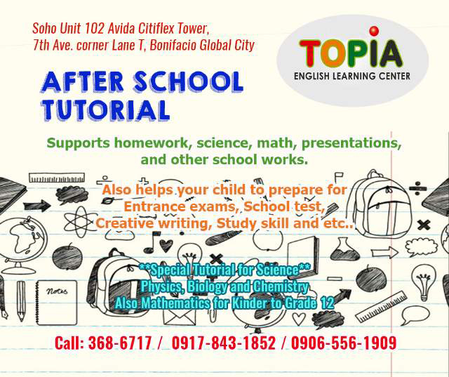 Topia English Learning Center Arts Music And Academics In One