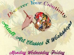 Unleash your inner creativity at TOPIA's Adult Art Classes and Workshops!