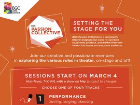 BGC Passion Collective: Learn to Perform and Produce a Theater Show