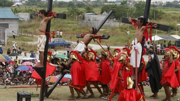 Penitential-Rites-In-San-Pedro-Cutud-Pampanga-During-Holy-Week