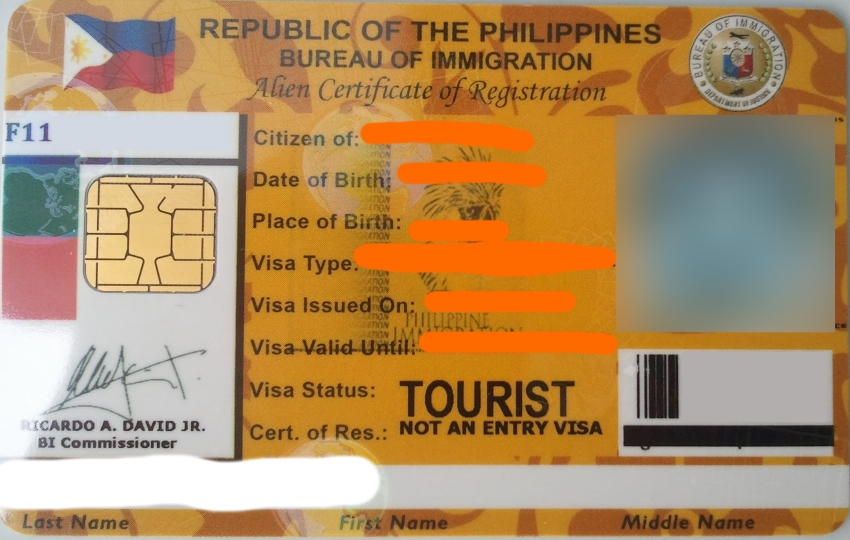 I-card Guide Philippine Primer And Expats' Renewal Issuance Acr To