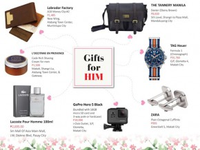 Valentine's Day 2017 Gift Ideas for Men in Manila
