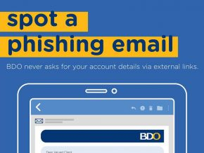 Avoid Phishing with These Tips from BDO
