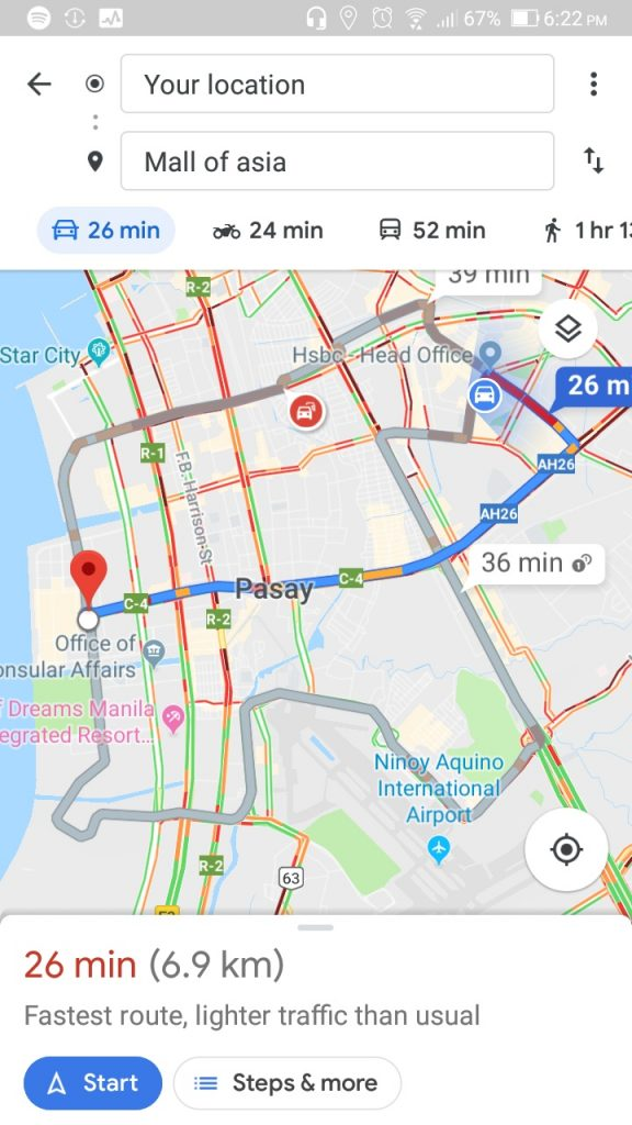 Google Maps to Integrate Number Coding Option | Philippine Primer