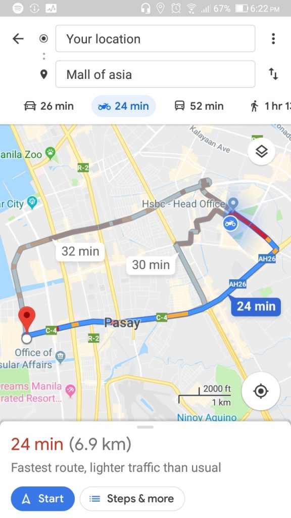 Google Maps to Integrate Number Coding Option | Philippine Primer on