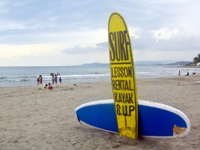 Surfing in La Union