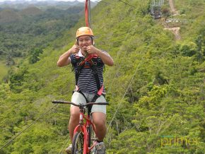 Chocolate Hills Adventure Park in Bohol