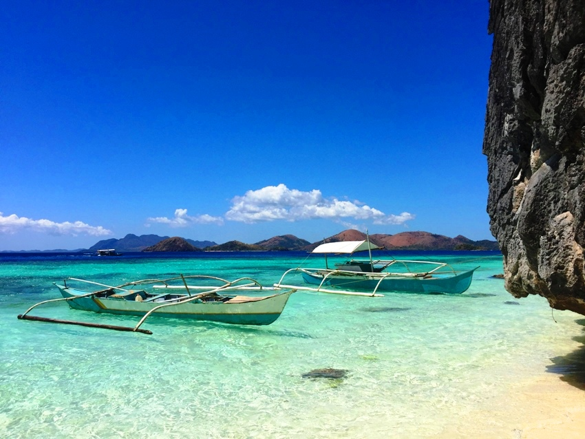 coron banol beach