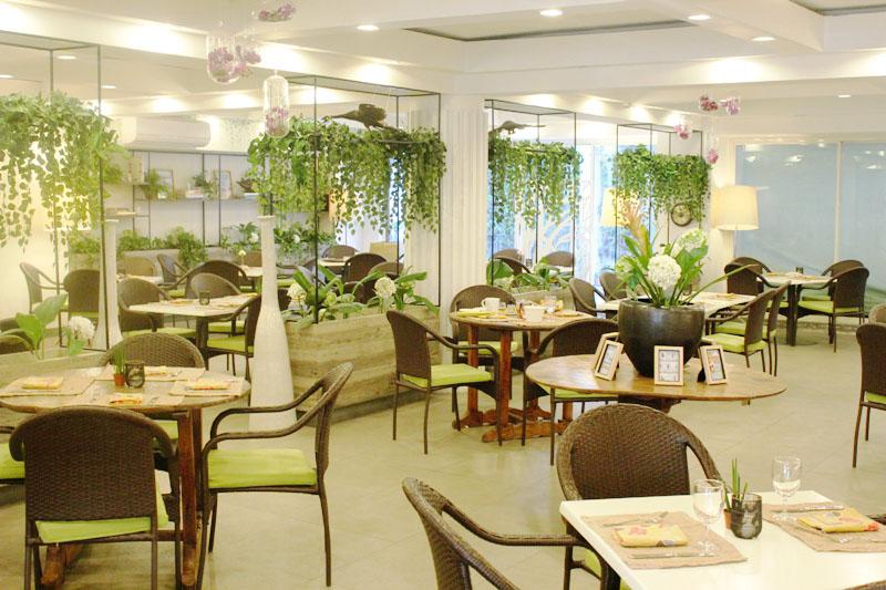 Happy garden cafe philippine primer for Garden cafe designs
