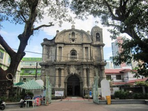Churches in Makati for the weary
