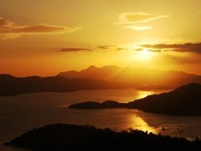 Sunset at Mt. Tapyas