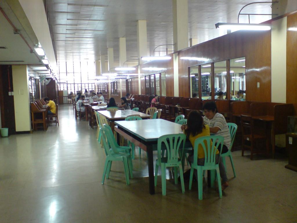 filipiniana reading room