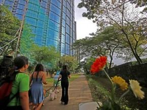 BGC Greenway Park, Metro Manila's longest urban park