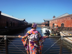 Explore Hakodate in Traditional Japanese Costume