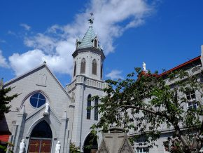 Motomachi Catholic Church in Hakodate, Japan