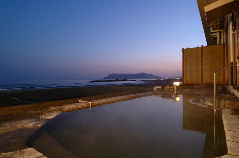 Outdoor bath of Nagisatei