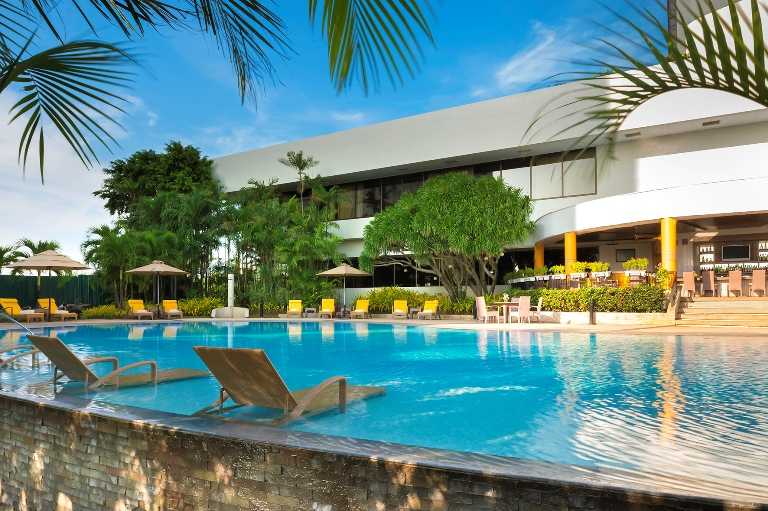 The finest hotel marco polo plaza cebu philippine primer - Hotels in cebu with swimming pool ...