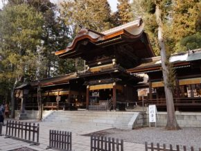 Nagano Shrine: Suwa Taisha
