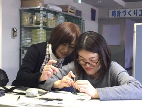 Watch-making in Suwa, Nagano, Japan