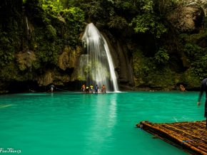 A Water Adventure in Cebu: Kawasan Falls