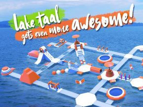 Aqua Park in Batangas: The South's first inflatable water park