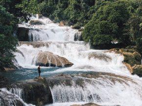 Aliwagwag Falls in Davao Oriental