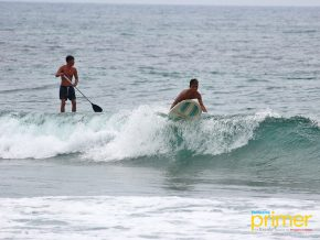 Urbiztondo Beach in La Union: Where waves and surfers meet