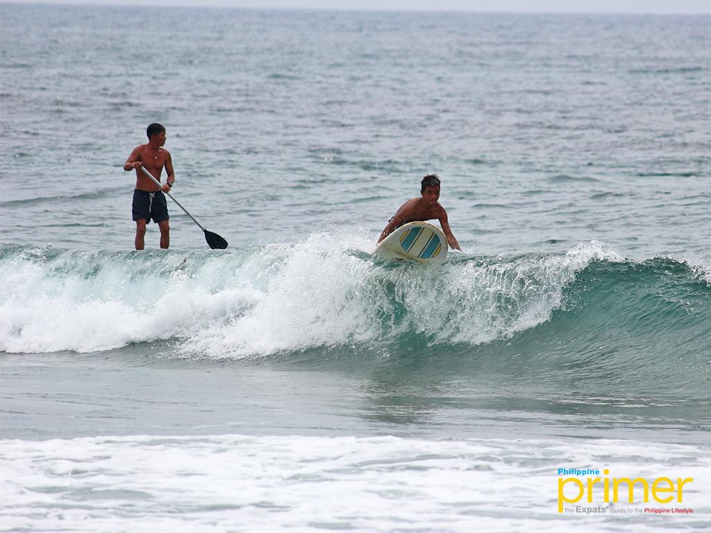 Urbiztondo Beach in La Union: Where waves and surfers meet ...