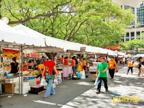 Salcedo Village Saturday Market in Makati City