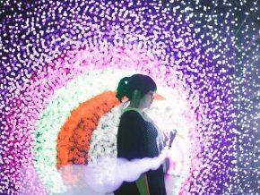Lumina in Resorts World Manila: Christmas Lights Tunnel
