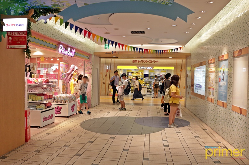 c2c0d1561 ... Tokyo Character Street. Some of the hottest stores are the world-famous  Pokémon Store, Hello Kitty Shop, and Rilakkuma Store, as well as Jump Shop,  ...