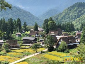 JAPAN TRAVEL: Ainokura Gassho-Style Village in Toyama Prefecture