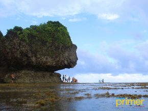 SIARGAO TRAVEL: Magpupungko Rock Formation in Pilar is Siargao's Natural Wonder
