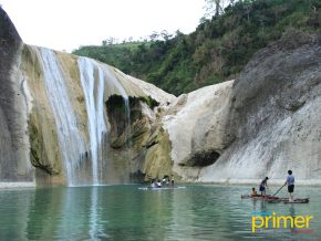 ILOCOS SUR TRAVEL: The Picturesque View of Pinsal Falls