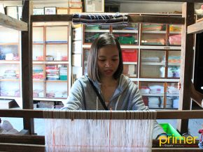 VIGAN TRAVEL: Rowilda's Factory Continues the Century-Old Practice of Loom Weaving