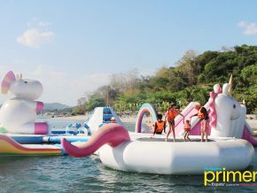 Inflatable Island in Subic Adds New Attractions and Obstacles