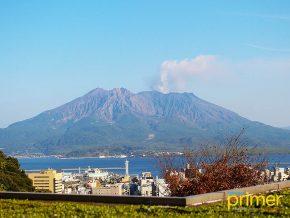 JAPAN TRAVEL: Mount Sakurajima, an Active Volcano in Kagoshima