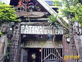 Patina Artist Gallery in Banaue: An Exhibit of Delfin Campol's Bul-ol Sculptures