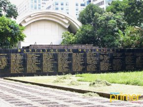 Bantayog ng mga Bayani in QC: Remembering the Martyrs and Heroes of Martial Law