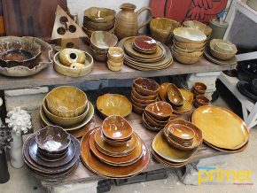 Cornerstone Pottery Farm in Silang Cavite: Functional and Aesthetic Stonewares