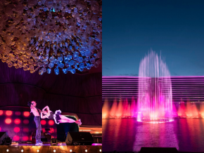 Okada Manila Entertainment Group & The Fountain: Circus Acts and Musical Water Shows for Everyone