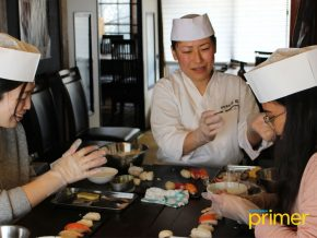 Sakura Michi in Hakodate, Japan Lets You Experience The Art of Sushi Making